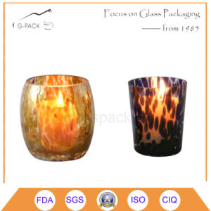 Pattern Design Glass Candle Holder, Candle Lamp pictures & photos