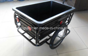 Ce Certificated Bike Bicycle Trailer with 90L Poly Tray pictures & photos