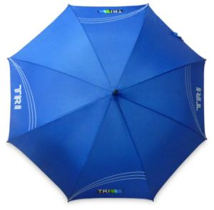 High Quality Wholesale 23 Inch Stick Promotional Rubber Handle Umbrella pictures & photos