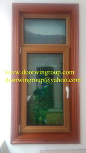 European Style Wood Aluminum Window with Good Quality, Wood Aluminum Windows with Well-Known Hardware Brand pictures & photos