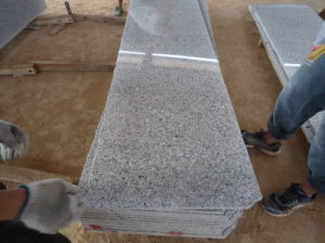 G635 Small Slab Granite Countertops/Vanity Top pictures & photos