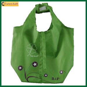 Green Beach Bag Reusable Polyester Tote Bag (TP-TB069) pictures & photos