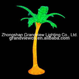 LED Acrylic Palm Coconut Tree Lights for Decoration with CE RoHS pictures & photos