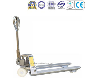 2.5t Stainless Steel Hand Pallet Truck pictures & photos