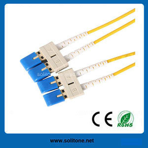 Sc Single Mode Duplex Fiber Optic Patch Cord pictures & photos
