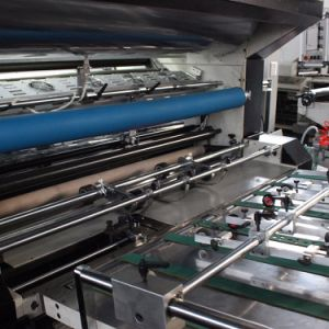 Msfm-1050e Fully Automatic Vertical Type Sheet Paper and Pet OPP BOPP Film Laminating Machine pictures & photos