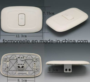 125V10A ABS Ivory South America El Salvador Doorbell Switch /Wall Switch pictures & photos