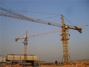 Hydraulic Crane Made in China by Hsjj Qtz7030 pictures & photos