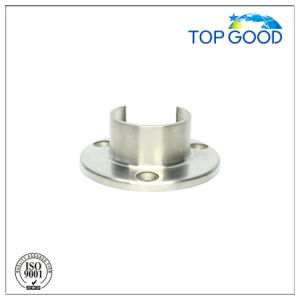 Top Good Stainless Steel for Slot Tube Wall Fixing Plate (53200) pictures & photos