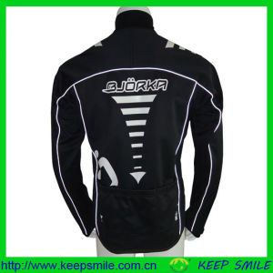 Reflective Piping Cycling Apprel Jacket for Cycling Wear pictures & photos