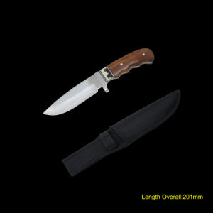 Fixed Blade Knife with Wooden Handle (#3766) pictures & photos