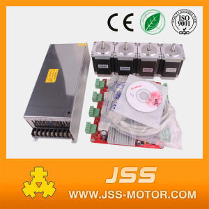 4axis 57mm Cheap Bipolar Stepper Motor with 82mm Length 3A pictures & photos
