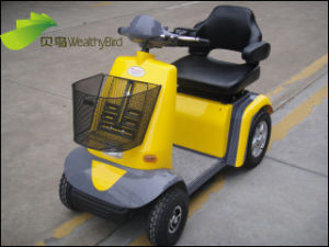 Senior People Electric Mobility Scooter 414L--Yellow pictures & photos