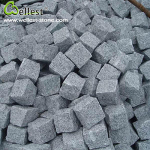 G603 Grey Granite Cube Cobble Paving Stone pictures & photos