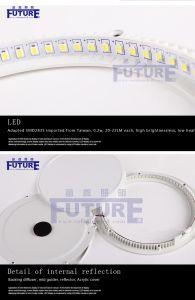 Hot Sale Super Slim Round Ceiling Panel LED Light Import pictures & photos