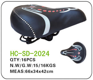 Leather Electric Bicycle Saddle (SD-2024) pictures & photos