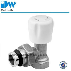 Angle Radiator Valves with ABS Handle pictures & photos
