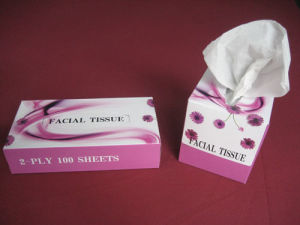 Box Facial Tissue Paper pictures & photos