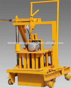 Lego Construction Equipment Mobile Concrete Hollow Block Making Machine pictures & photos