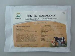 Colistin Sulfate 10% + Amoxicillin 20% Soluble Powder