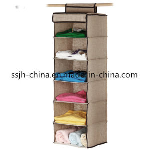 6 Compartment Hanging Storage Box Organizer (TN-BXH1606)