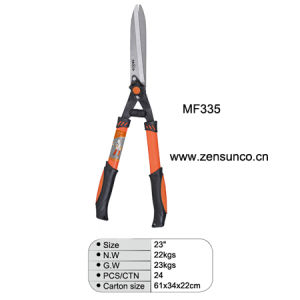 """Mf335 23"""" Oval Steel Tube Hedge Shear pictures & photos"""