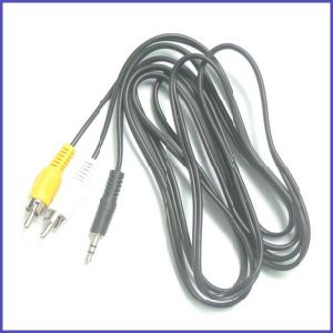 AV Cable Audio&Video Cable 2RCA Cable for Multimedia