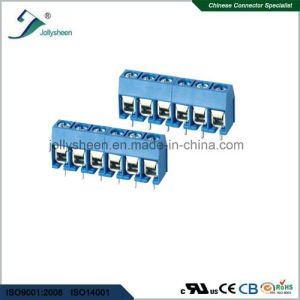 PCB Screw Terminal Blocks Pitch 5.0mm 6p 180deg Type 12A pictures & photos