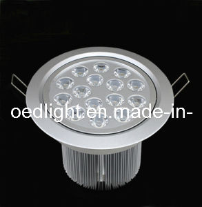 CE RoHS High Power 15W LED Spotlight for Ceiling Lighting (S1508015W)