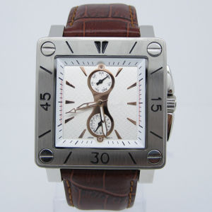 Hot Sale Fashion New Style Stainless Steel Wrist Watch (HL-CD006) pictures & photos