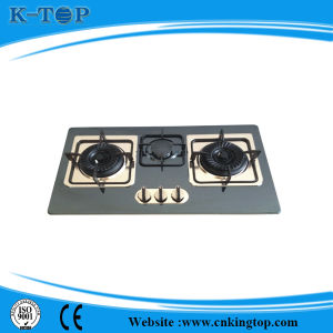 Home Use Gas Triple Gas Cooker, Cooktops S/S Panel pictures & photos
