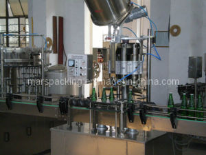 Glass Bottle Beer Crown Capping Machine (HXG-6B) pictures & photos