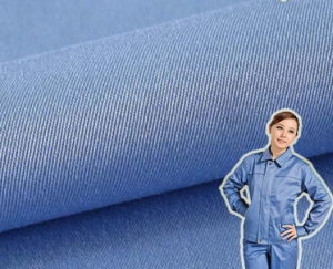 Inflexible Stiffness Workwear Polyester Cotton Twill Fabric pictures & photos