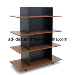 Display Stand /Wooden Floor Display Rack/ Floor Display Stand (AD-MD-9854) pictures & photos