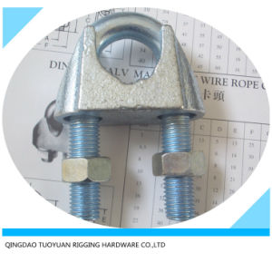 China Galvanzied Malleable Iron DIN741 Wire Rope Clip pictures & photos