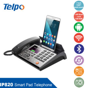 Factory Manufacturing IP820 Smart IP Phone Connecting with PDA&Cellphone