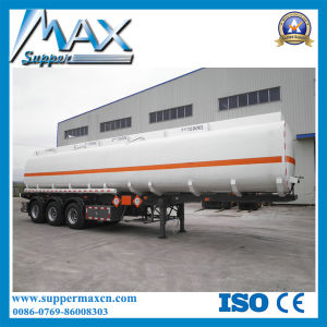 35cbm/ 45cbm/ 55cbm/ 60cbm 3 Axle Fuel/Oil Tanker Semi Trailer pictures & photos