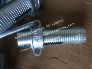 Shoring Collar with Nut/Scaffold Props Jack Parts/Scaffolding Sleeve pictures & photos