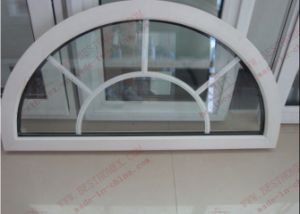 High Quality UPVC Arch Window (BHP-RW08) pictures & photos