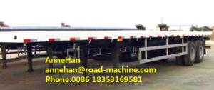 Cimc3 Axle 20 / 40 Foot Flatbed Skeletal Semi Trailer Trucks 12 PCS Container Twist pictures & photos