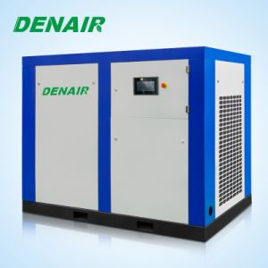 110kw Stationary Gear Driven Air Cooling Screw Air Compressor pictures & photos