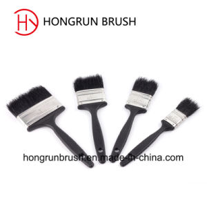 Plastic Handle Pure Black Bristle Paint Brush (HYP004) pictures & photos