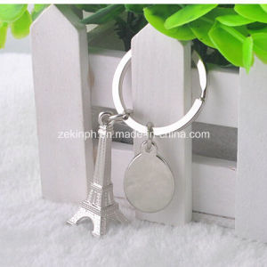 Metal Eiffel Tower Shape Key Chain pictures & photos