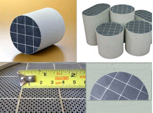 Sic DPF Diesel Particulate Filter Catalytic Converter DPF pictures & photos