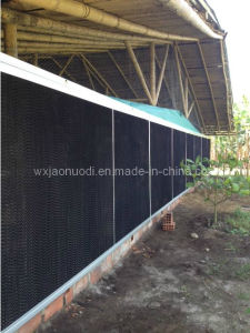 Black Coated Evaporative Cooling Pad pictures & photos