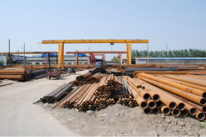 En 10219 ASTM A500 Welded ERW Steel Pipe