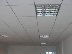 Design Acoustic Sound Absorption Suspended Gypsum Board for Ceiling pictures & photos