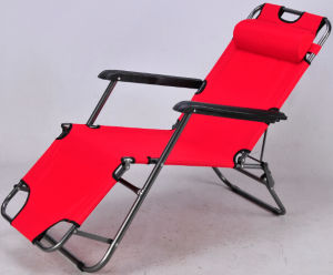 Adjustable Lounge Garden Chair with Pillow pictures & photos