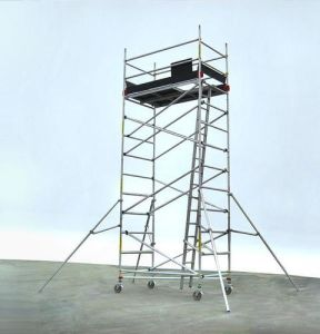 High Strength Tubular Steel Ladder Scaffolding pictures & photos