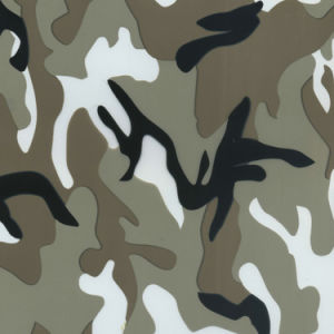 Kingtop 1m Width Camouflage Design Water Transfer Printing Liquid Image Film Wdf9025-3 pictures & photos